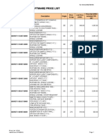 Software Price List Y1314-From 102013