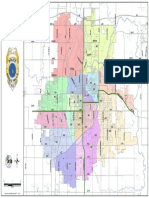 Sioux Falls Police District Beat Map