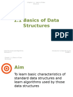 1.1 Basics of Data Structures (1)