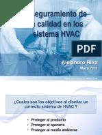 Calidad en Los Sistemas HVAC