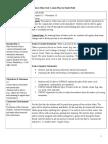 mini-unit lesson plan