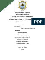 Informe de Bioquimica Aplicada
