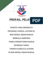 PROFAIL  PELATIH