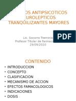 FARMACOS ANTIPSICOTICOS  NEUROLEPTICOS