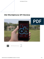 Obi Worldphone SF1 Review