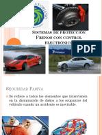 Protección Frenos con control electronico