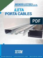 Tean Canaletas y Portacables 2017