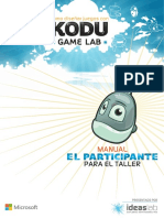 Kodu Game Lab Manual Del Participante