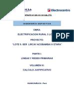 Memoria de Calculo Justificativo LP y RP_LT 05