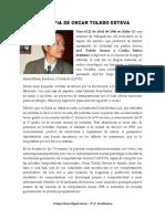 Biografia de Oscar Toledo Esteva