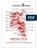 Ashes Fire Dossier General Servicios 2016