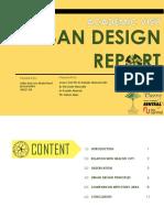 Studio assignment - Urban Design (Degree)