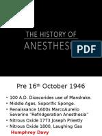 History Of Anaesthesia - Priyank.pptx