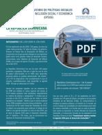 Boletín del Observatorio de Políticas Sociales para la Inclusión Social y Económica (OPSISE)