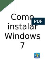 Guia Como Formatiar Una Computadora Con Windows 7