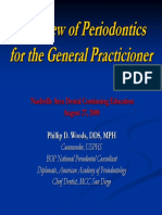 Periodontics for the General Practitioner - Aug. 27, 2008.pdf