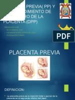PLACENTA PREVIA( PP) Y DESPRENDIMIENTO DE.pptx