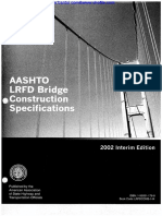 AASHTO LRFD Construction Specs