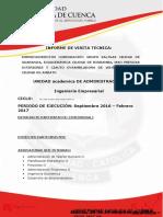 Informe de Gira Ingenieria Empresarial