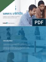 Global Talent Trends Staff Report