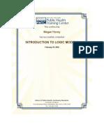 introduction to logic models cert
