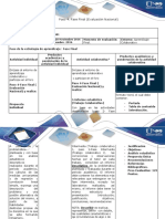 Guía de Actividades y Rúbrica de Evaluación – Paso 4 – Fase Final (Evaluación Nacional)