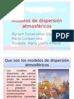 Modelos de Dispersión Atmosféricos Para Exponer