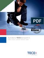 TECEdrainpoint S Catálogo