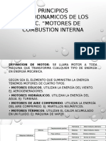 Principios Termodinamicos Fundamentales de Los Motores