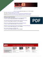 Mold Deformation in Nanoimprint Lithography