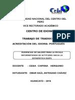 Artículo Español