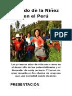 Niñez en El Perú