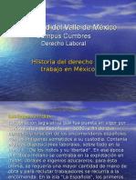 Historia del derecho del trabajo en Mexico.ppt