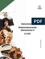 Solucionario Clase 19 Desenmascarando Distractores II 2016 CES_OK