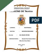 Proyecto Final (INFORME)