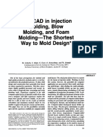 CAE-CAD in Injection molding