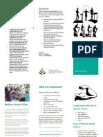 brochure physical activity