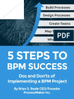 5 Steps to BPM Success