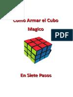 Armar el Cubo Rubik en Siete Pasos