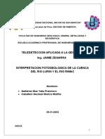 Analisi Fotogeologico de Rimac y Lurin