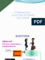 Auditor Interno ISO22000
