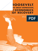 Rosen Elliot, Roosevelt, the Great Depression and the Economics of Recovery