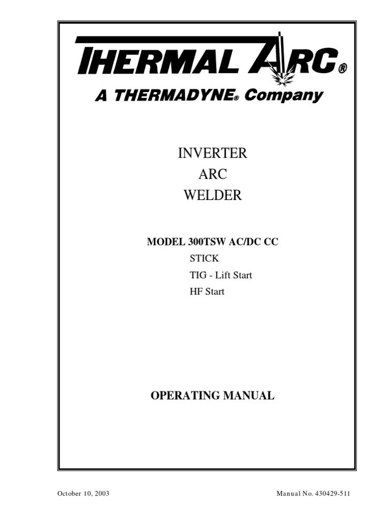 Doclib 1394 430429 511pdf Welding Power Supply Mode Inverter Arc Welder Schematic On Igbt