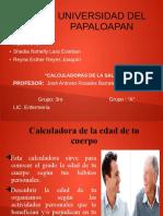 Actividad 7 Calculadora de La Salud