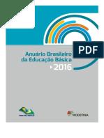 Anuario Educacao 2016