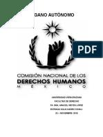 Comision Nacional De los Derecho Humanos
