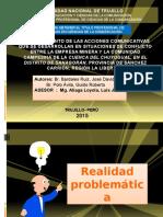 Comunicacion y Conflicto en El La Región de La Libertad