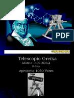 Telescópio Greika 1400150EQ