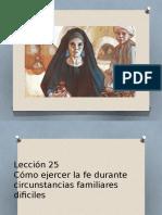 Lección 25 familia eterna