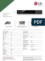 DP132 Spec Sheet